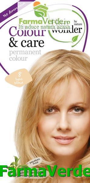 Hairwonder Olanda Sysmed Colourcare Vopsea Par Light Blond Nr 8
