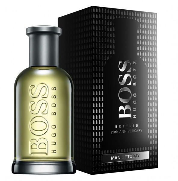 boss bottled 20th anniversary