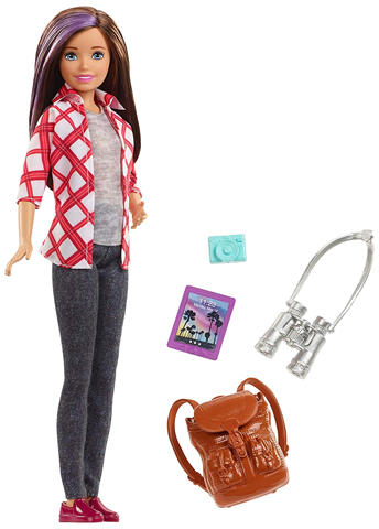 ac1bba9e9830 Mattel Barbie - Dreamhouse Adventures - Skipper baba utazó kiegészítőkkel