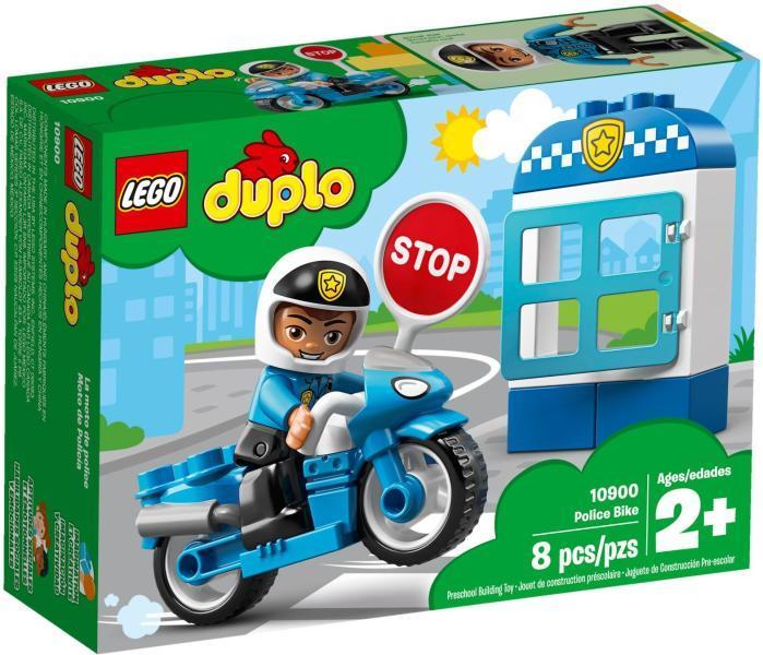 Vásárlás Lego Duplo Rendőrségi Motor 10900 Lego árak