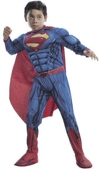 Vásárlás  Rubies Superman Deluxe jelmez L-es méret (RU881367-L ... a126fcc39c