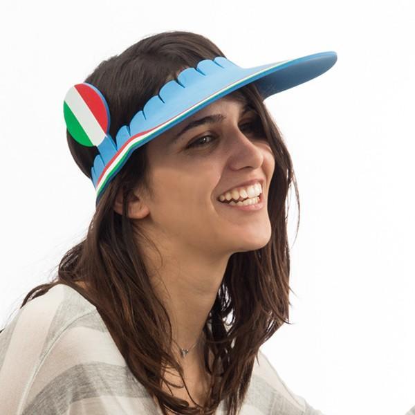 Vásárlás  Th3 Party Olasz zászló napellenző sapka Jelmez kiegészítő ... df045120a1