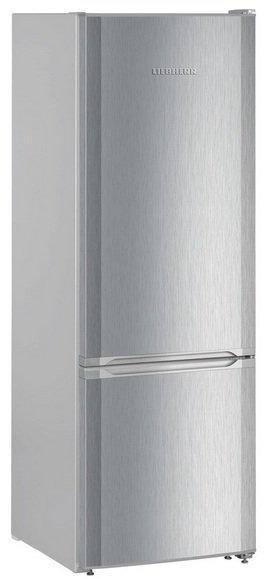 Liebherr CUel 2831 acél színű alulfagyasztós hűtő, SmartFrost, A++, 161cm magas, 55cm széles, AA energiaosztály
