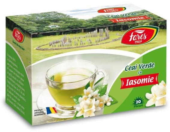 Ceai Verde cu Iasomie 30g Fares