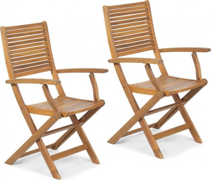 FDZN 4019 T kerti szék karfával 2db