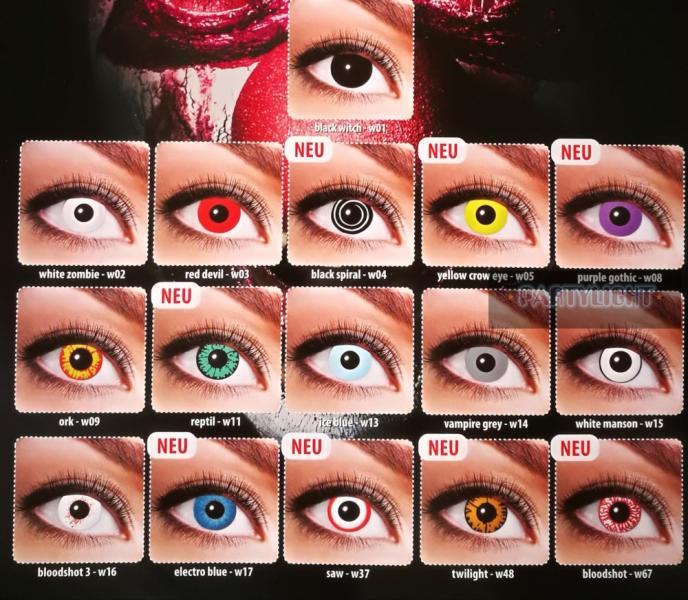 színes kontaktlencse korrekciós látás