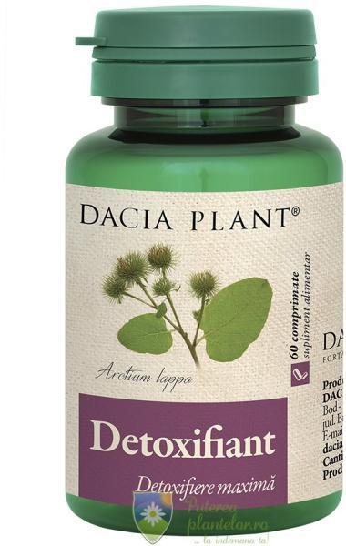 am slabit cu detoxifiant dacia plant