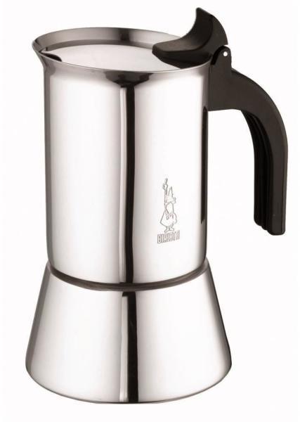 Bialetti Venus Indukciós 4 személyes kotyogós kávéfőző Acél
