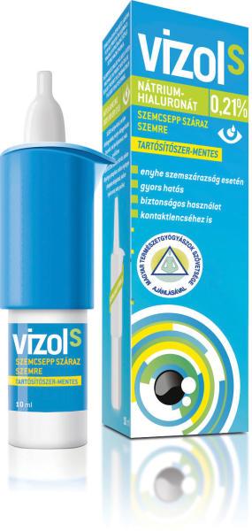 Vizol S 0,21% oldatos szemcsepp száraz szemre 10ml | BENU Online Gyógyszertár | BENU Gyógyszertár
