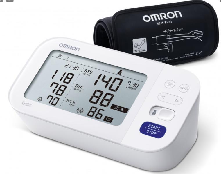Vásárlás: Omron M6 Comfort AFIB (HEM-7360-E) Vérnyomásmérő..