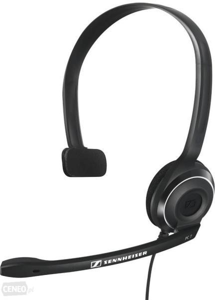 Vásárlás  Sennheiser PC 7 (504196) Mikrofonos fejhallgató árak ... 0742dcba02