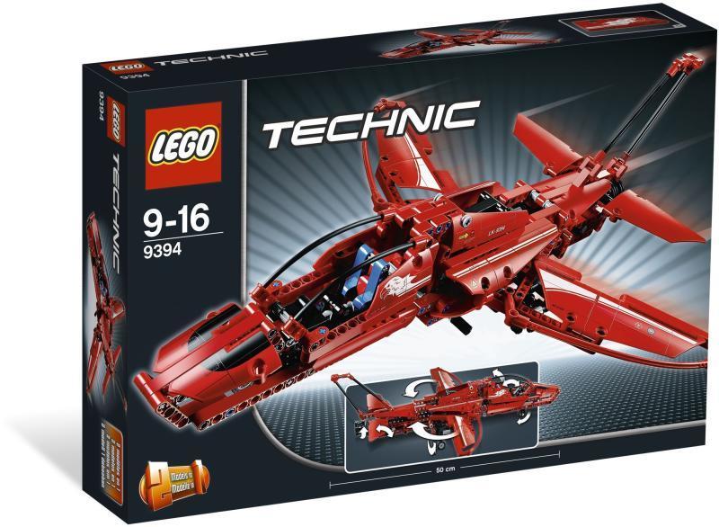 LEGO Technic - Sugárhajtású repülõgép 9394