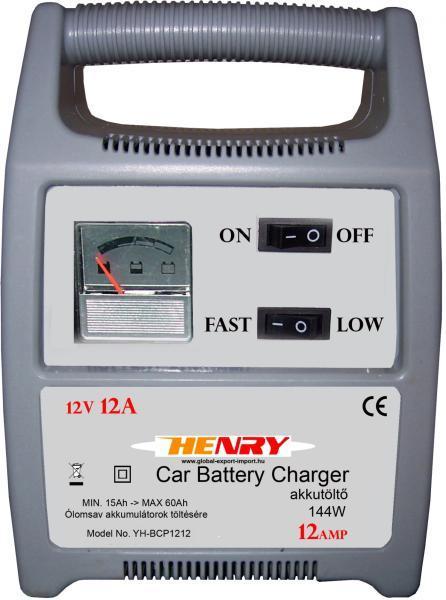 Vásárlás: Henry YHBCP1212 Jármű akkumulátor töltő árak