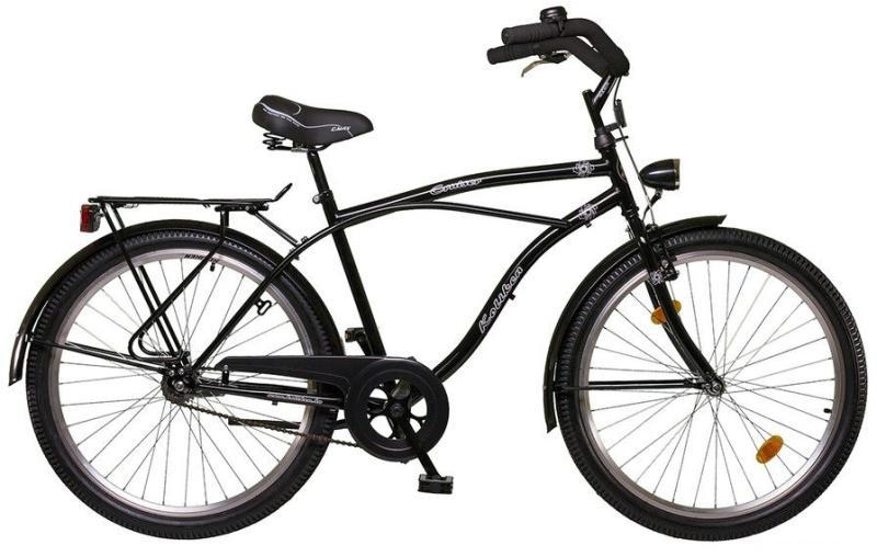 Cruiser bicikli férfi