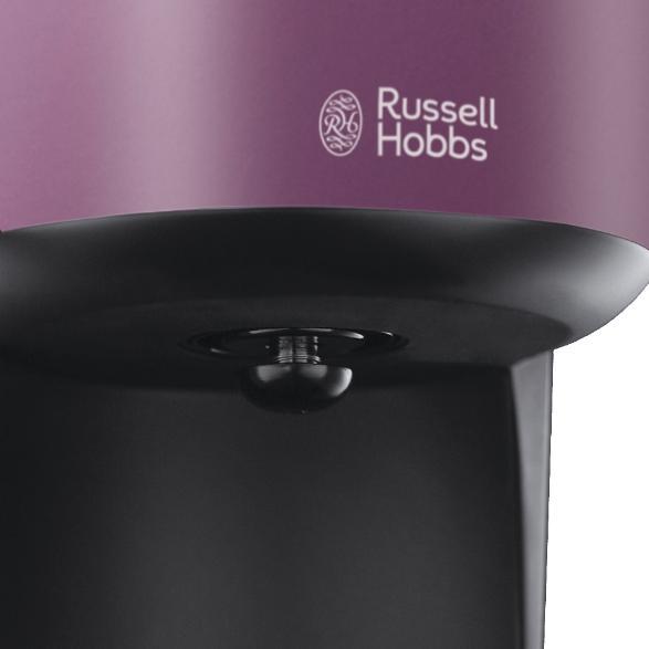 russell hobbs 20133 56 colours purple passion cafetiere filtr de