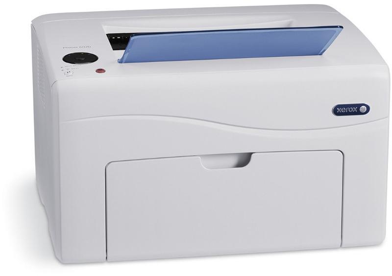 Принтер Xerox Phaser 6020 (A4 светодиодный цветной 12 стр/мин / 10 цв.стр/мин до 30K стр/мес 128MB GDI USB)
