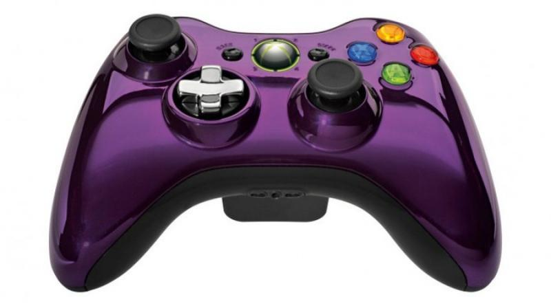 Microsoft Xbox 360 Wireless Controller Chrome SeriesXbox 360 Controller Chrome Series