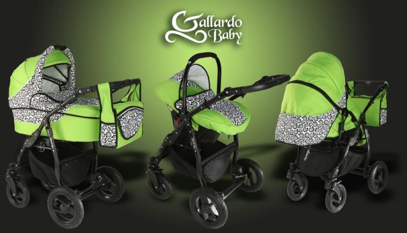 Vásárlás  Gallardo Baby Black Lux Babakocsi árak összehasonlítása ... d512cb5c77