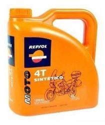 Repsol Moto Sintetico 4T 10W-40 (4L)