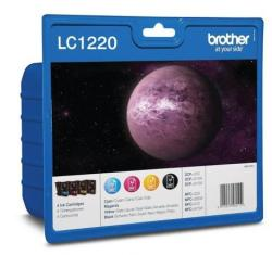 Brother LC1220VALBP Value Pack (BK/C/M/Y)