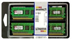 Kingston 16GB (2x8GB) DDR3 1333MHZ KVR1333D3E9SK2/16G