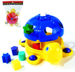 D-Toys Formaillesztő csodateknős