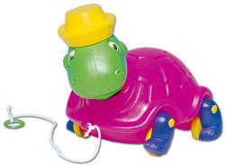Húzható mászkáló teknősbéka - D-Toys
