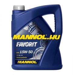 MANNOL Favorit 15W-50 5L