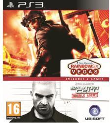 Ubisoft Double Pack: Rainbow Six Vegas + Splinter Cell Double Agent (PS3)