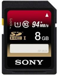 Sony SDHC 8GB Class 10 SF8UX