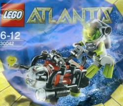 LEGO Atlantis - Búvár mini tengeralattjáróval (30042)