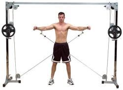 Body-Solid Crossover Machine