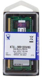 Kingston 8GB DDR3 1333MHz KTA-MB1333/8G