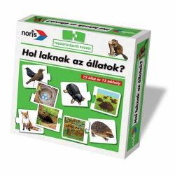 Noris Hol laknak az állatok?