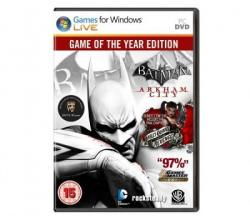Warner Bros. Interactive Batman Arkham City [Game of the Year Edition] (PC)