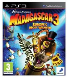 D3 Publisher Madagascar 3 Europe's Most Wanted (PS3)