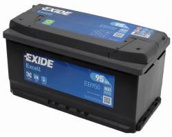 Exide Excell EB950 95Ah Jobb (EB950)