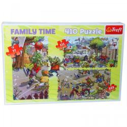 Trefl Family Time: Kosárlabdázás 3 az 1-ben puzzle (12054)