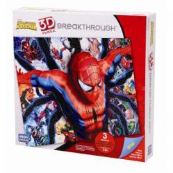 Mega Puzzles 3D Domborított Puzzle - Pókember 3-as fokozat