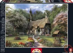 Educa Davison: Rózsa kunyhó 1500 db-os (15165)