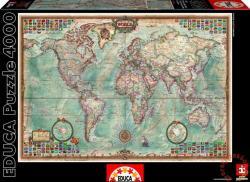Educa Világtérkép 4000 db-os (14827)