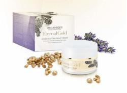 ORGANIQUE Eternal Gold Lifting hatású éjszakai arckrém 50ml