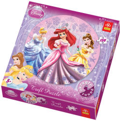 Trefl Disney Hercegnők Kör puzzle 150 db-os (39048)