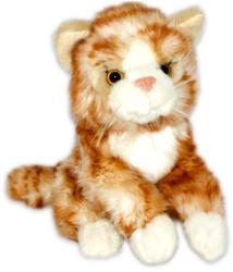 Semo Toys Vörös Csíkos Macska 18cm