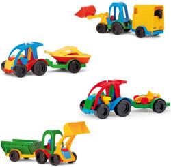 Wader Kid Cars Buggy utánfutóval