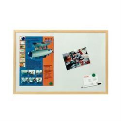 Esselte Mágneses, törölhetö fehértábla, fa keret 60x90 cm (E500983)