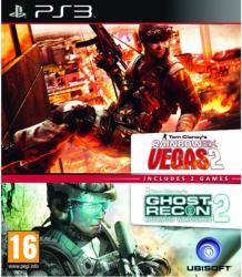 Ubisoft Tom Clancy's Rainbow Six Vegas 2 + Ghost Recon Advanced Warfighter 2 (PS3)