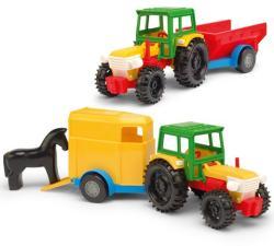 Wader Traktor utánfutóval