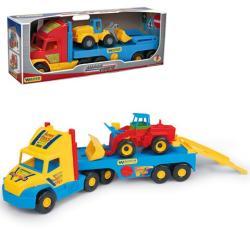 Wader Super Truck homlokrakodó munkagéppel