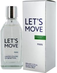 Benetton Let's Move Man EDT 100ml